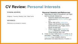 Best Of Resume Hobbies New Resume Interests Resume Examples Concept