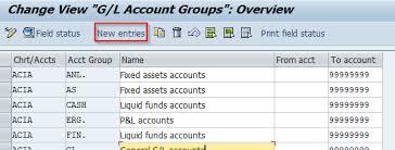 Define Account Group Sap Transaction Code Obd4
