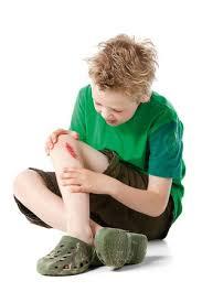 Schaafwond / hoe behandel je een schaafwond