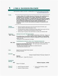 Free Nursing Resume Template Stunning Format Ng Resume 28 Download 28 Free Nursing Resume Templates New