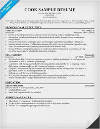 Prep Cook Resume Free Download Line Cook Resume Sample Examples