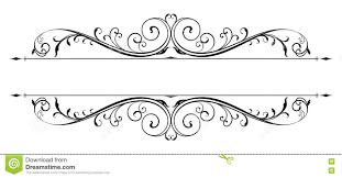 Scroll Design Images Vector Scroll Accent Stock Vector Illustration Of