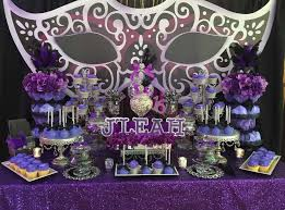 Masquerade Ball Table Decoration Ideas Interesting Masquerade Birthday Party Ideas Dessert Tables On Catch My Party