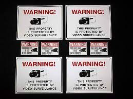 Vending Machine Signs Best PARTY STORE SECURITY Cameras Warning SignsCooler Vending Machine