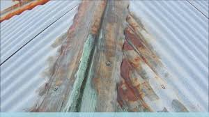 how to restoring rusty gal roof