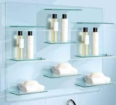 floating glass shelves for bar shelf brackets canada shower nz floating glass shelves