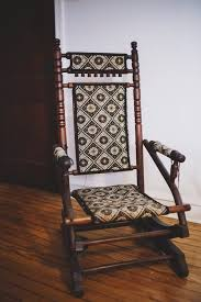 circa 1880 platform rocker vintage rocking chairrocking