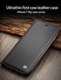 ultra slim case for iphone 7 luxury leather flip cover for iphone 7 plus card holder 4 7 5 5 lizard pattern grid pattern cell phone case mobile phone cases