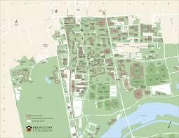 princeton university map  princeton university nj • mappery