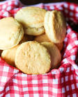 barbecued biscuit