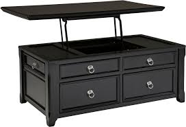black coffee table. Black Storage Coffee Table With Lift Top