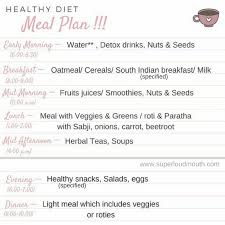 Diet Chart For Healthy Skin The Perfect Diet Plan For Healthy Body And Glowing Skin