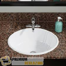 bathroom sink refinishing