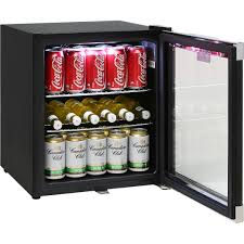 schmick tropical glass door mini bar fridge plenty of storage options