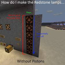 or with pistons if there is no other way