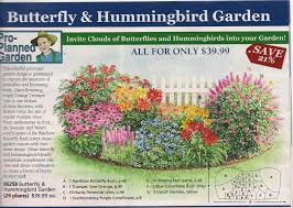Small Picture Garden plan from Michigan Bulb Co for a butterfly garden east