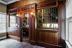we can sit amongst the wine and be grown ups said mr box version modern wine cellar