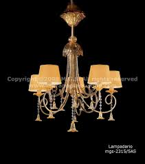 2315 Serie Mit Lampenschirme Kronleuchter