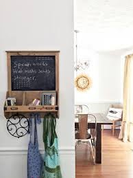 Large Hanging Chalkboard Funky Hanging Back Rack And Chalkboard Wall Decor Idea Also