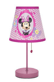 Kids Bedroom Lamp Amazoncom Disney Minnie Mouse Bow Tique Table Lamp Toys Games