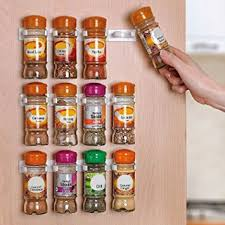 Fine Amazon Kitchen Cabinet Doors Homeit Spice Rack Racks For 20 And Inspiration Decorating