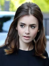 lily collins stunning retro hair and makeup style promoting her new film the mortal instruments