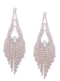 sparkly rhinestone chandelier teardrop earrings golden earrings nisct3929611