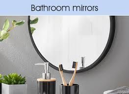 large small round mirrors wilko