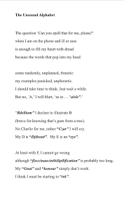 The phonetic spelling of the individual letters uses the international phonetic alphabet (ipa), which enables us to represent the sounds of a language more accurately in written characters and symbols. Brian Bilston On Twitter Whenever I M Asked To Spell Words Over The Phone All Knowledge I Have Of The Phonetic Alphabet Empties Completely From My Brain Instead I Seem To Conjure Up