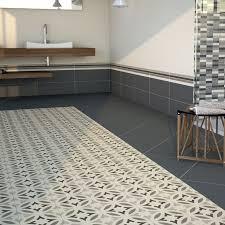 12 best vintage style tiles images on grey patterned bathroom floor tiles