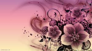 abstract pink flowers wallpaper full hd wallpapers