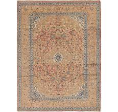 handknotted 9 8 x 12 7 kashan persian rug