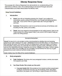 detail information for literary analysis essay outline title 8 overview
