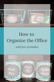 office organization tips. Office Organization Tips With Free Printables A