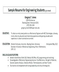 Resume Career Objective Statement Student Objective For Resume Sample Objectives In Resume For Career 41