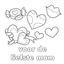 Leuk Voor Kids Kleurplaat Liefste Mama Kleurplaat Moederdag