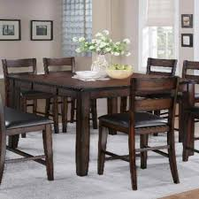 Dining Room Adorable Design Of Bar Height Dining Table For Nice