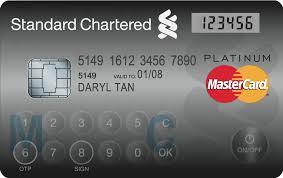 standard chartered bank mastercard