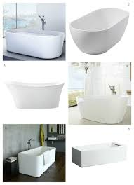 freestanding baths white