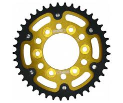 Supersprox Stealth Gold 525 Rear Sprocket For Zx10r 11 17