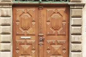 even old doors can look new with proper restoration and refinishing