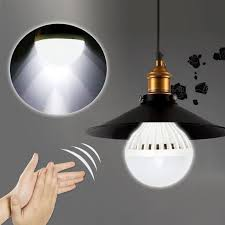 e27 auto sound sensor led globe bulb light lamp activated sensor light automatic lights