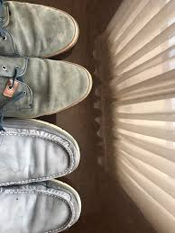 how do i clean these leathery shoes