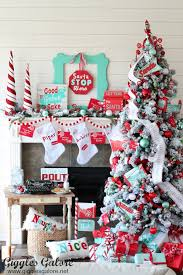 once again i m paring in the michaels dream tree challenge and this years tree pays homage to that glorious christmas season tradition and