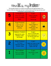 How Big Is My Problem Chart How Big Is My Problem Worksheets Teaching Resources Tpt