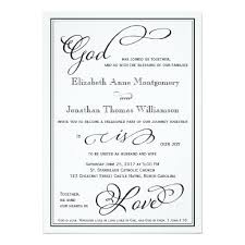 249 best christian wedding invitations images on pinterest Wedding Invitations Wording With God simple god is love christian wedding invitation wedding invitations wording with god