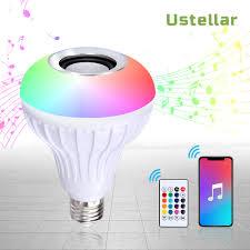 Light Speaker Details About Led Wireless Bluetooth Light Bulb Speaker 12w Rgb Smart Music Play Lamp Remote