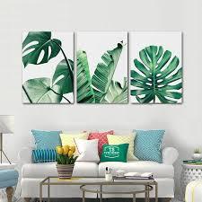tropical leaf set of prints tropical