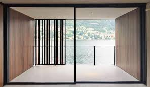 clear view of balcony from sliding doors