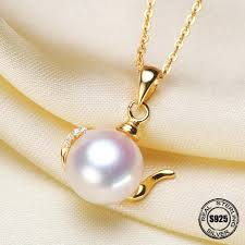 pendant mountings luxury genuine gold accessories fashion pearl settings findings women female freeform